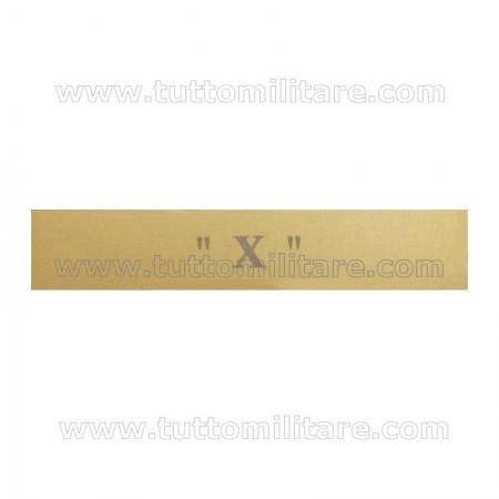 Fascetta Metallo  X