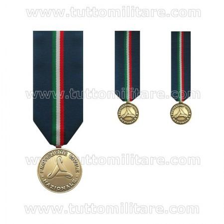 Medaglia Bronzo Protezione Civile