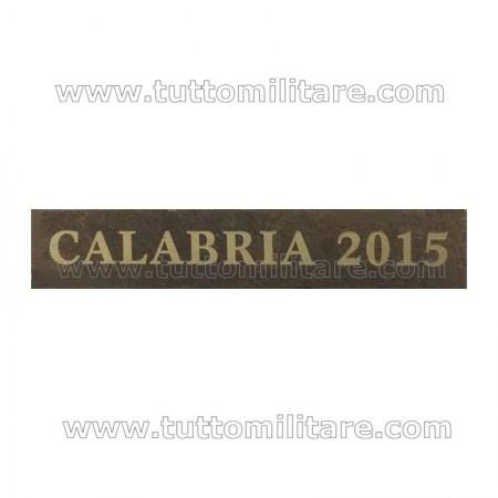 Fascetta Metallo CALABRIA 2015