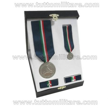 Set Benemerenza Argento Protezione Civile Personale Militare