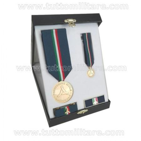 Set Benemerenza Oro Protezione Civile Personale Civile