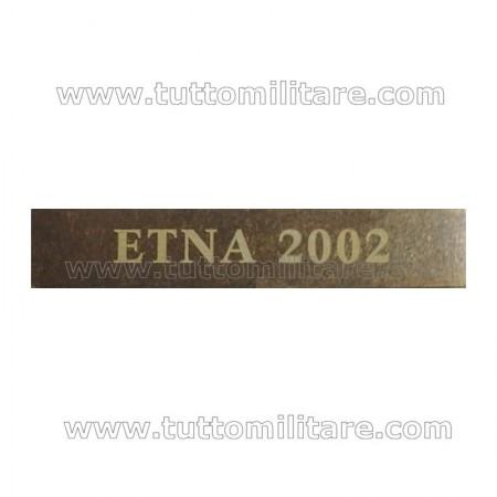 Fascetta Metallo ETNA 2002