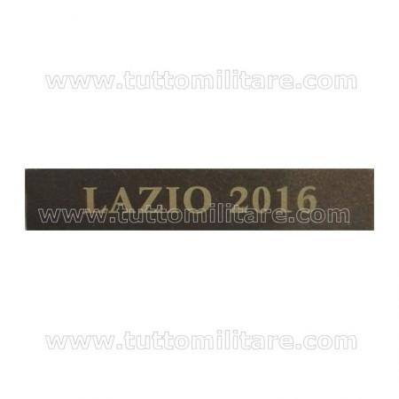Fascetta Metallo LAZIO 2016