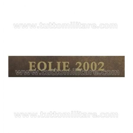 Fascetta Metallo EOLIE 2002