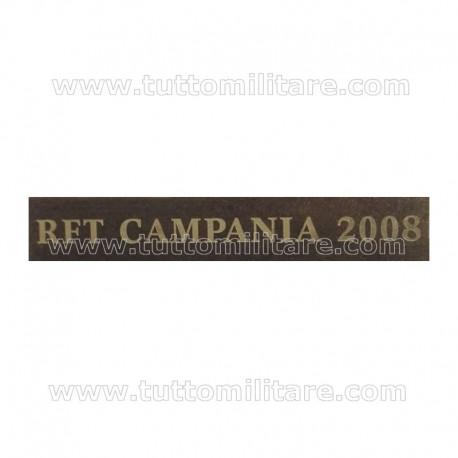 Fascetta Metallo RFT CAMPANIA 2008