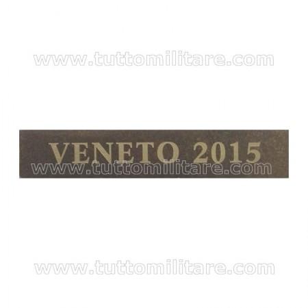 Fascetta Metallo VENETO 2015