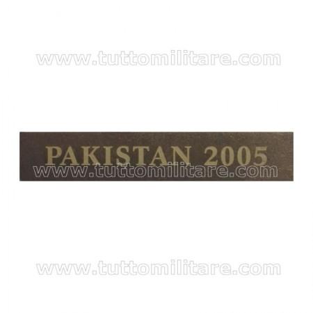 Fascetta Metallo PAKISTAN 2005