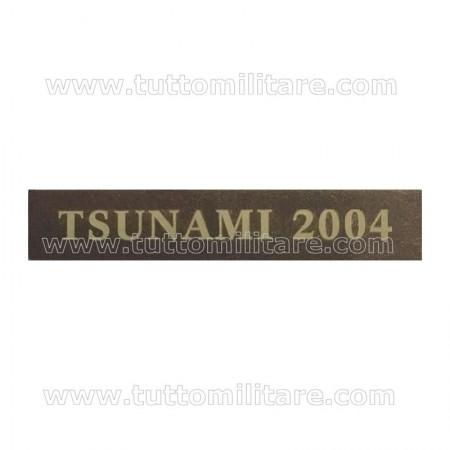 Fascetta Metallo TSUNAMI 2004