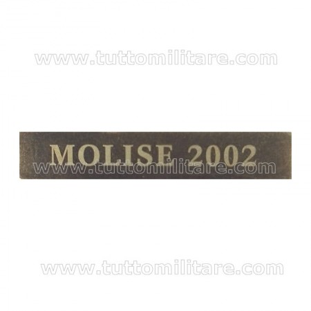 Fascetta Metallo MOLISE 2002