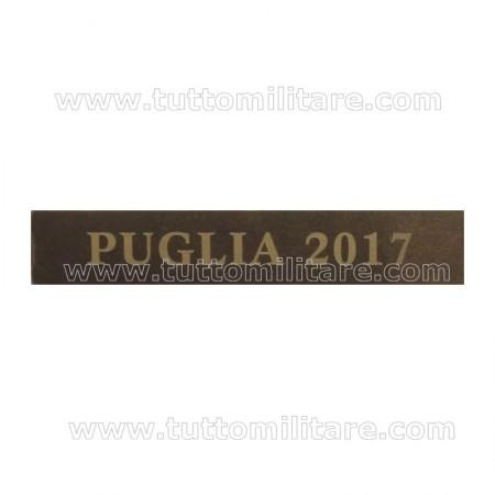 Fascetta Metallo PUGLIA 2017